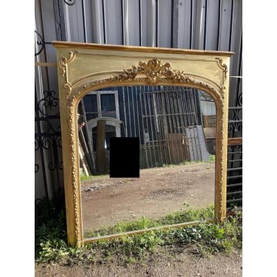 Mirror / Golden Trumeau Napoleon III