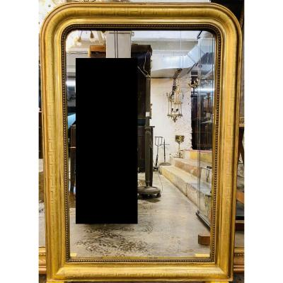 Louis Philippe Gilded Greek Mirror
