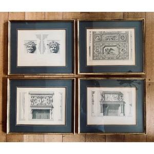 Series Of Four Engravings