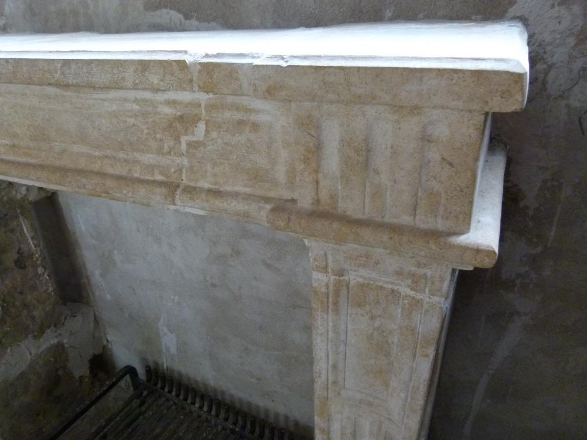 Anciene Stone Fireplace
