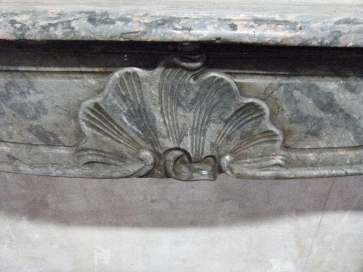 Cheminée Loius XV In Marble XVIII