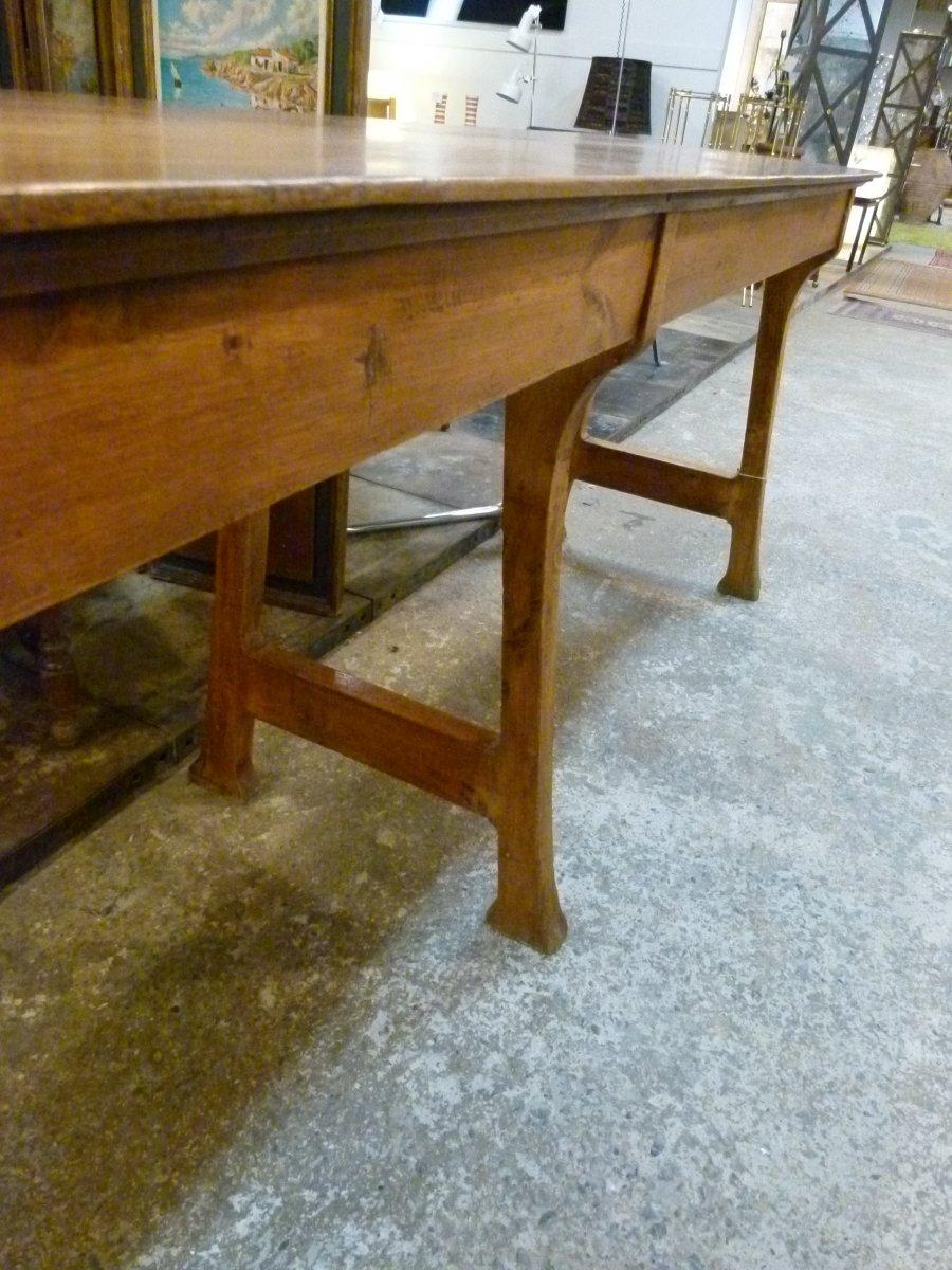 Comptoir Table Metier Art Nouveau XXth-photo-2