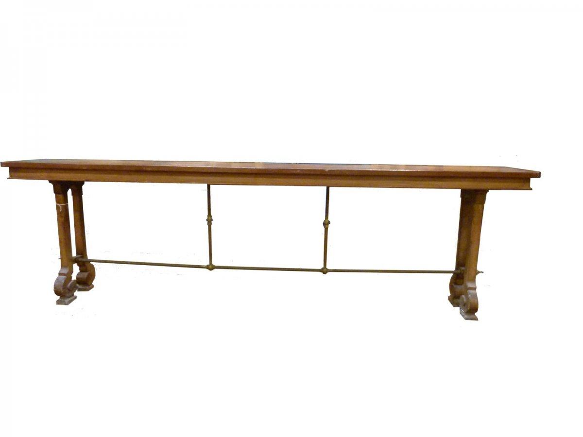 Art Nouveau Craft Table