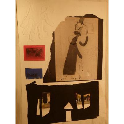 Lithographie de Antoni Clave