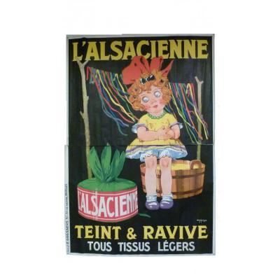 Big Poster Alsacienne De Roux