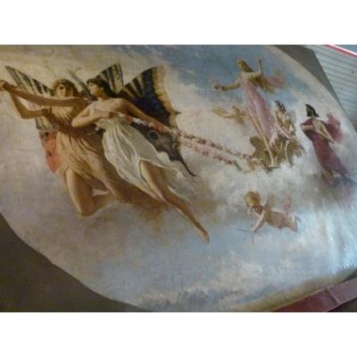 Grand Peinture   Antonio Cava XIXÈme