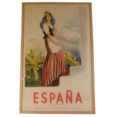 Affiche Canarias Mora