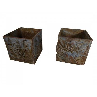 Pair Of Flower Pots XIXth