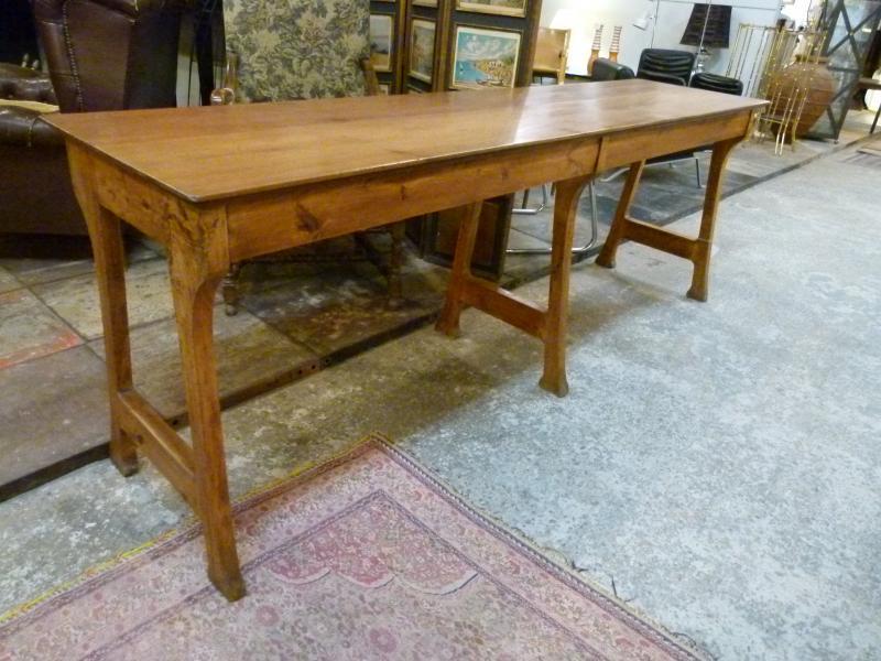 Comptoir Table Metier Art Nouveau XXth-photo-3