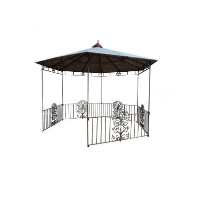 Pergola Wrought Iron And Zinc Twentieth