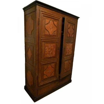 18th Century Patinated Catalan Wardrobe