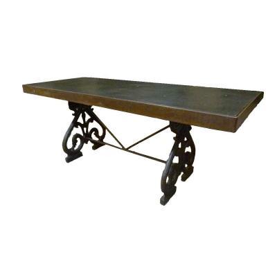 Table En Fonte Et Pierre XIXeme