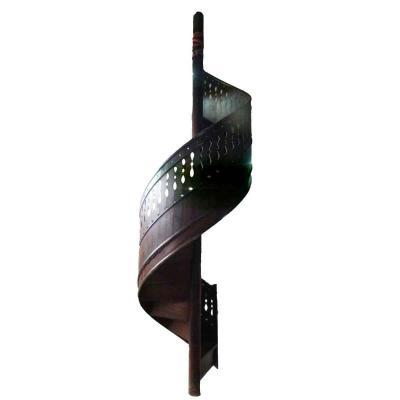 Twentieth Wood Spiral Staircase