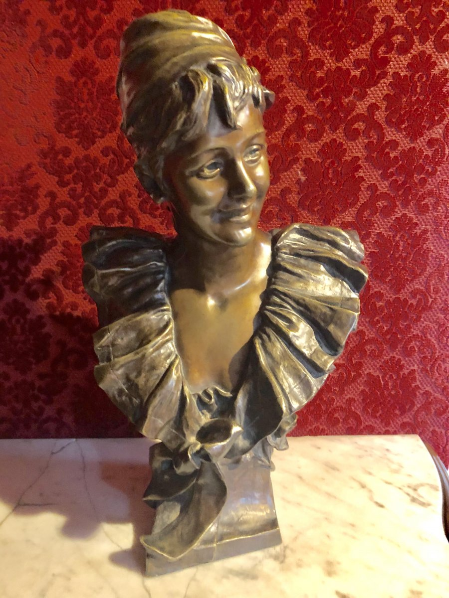 Bronze Van Der Streaten 1856. 1928