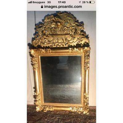 Miroir  DÉbut XVIII Eme