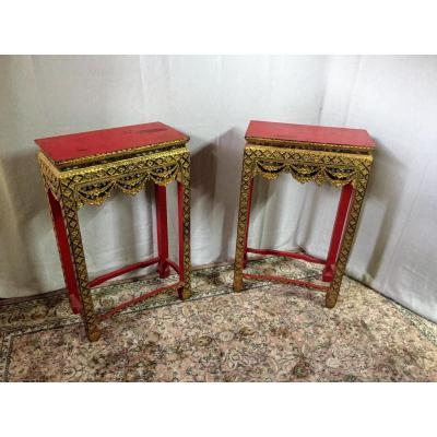 Oriental Consoles 1930 (pair)