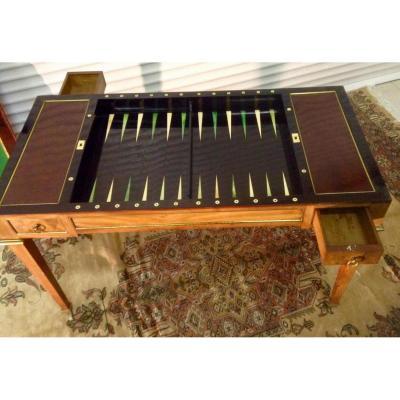 Table Tric Trac 18 Eme