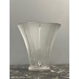 Vase Epi Cristal René Lalique