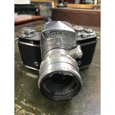 Silver Camera Exakta Varex II A From 1955