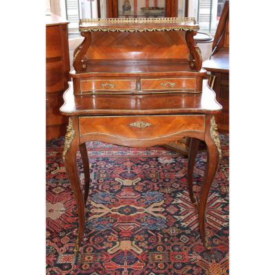 Bureau Bonheur Du Jour Style Louis XV