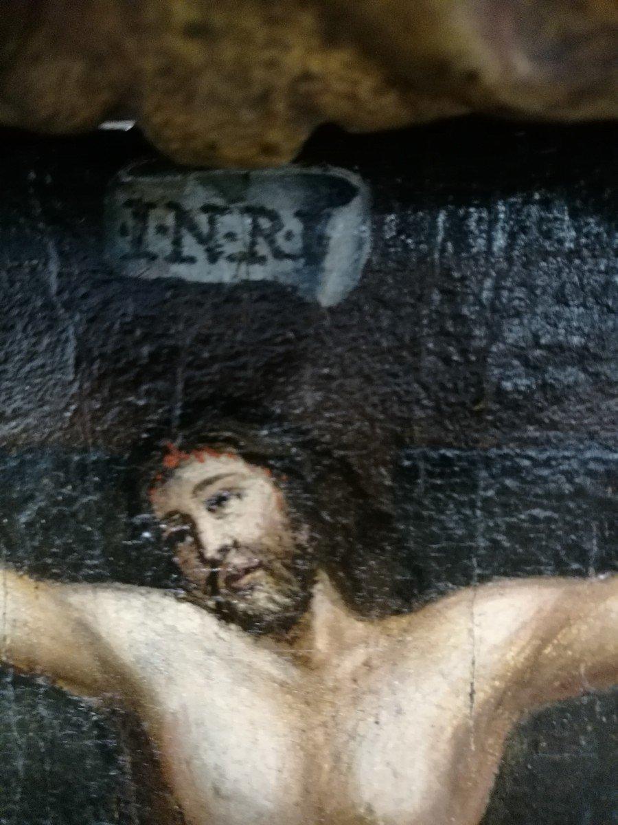 Crucifixion Sur Table-photo-3