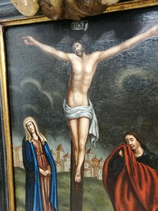 Crucifixion Sur Table-photo-4