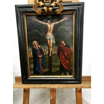 Crucifixion On Table