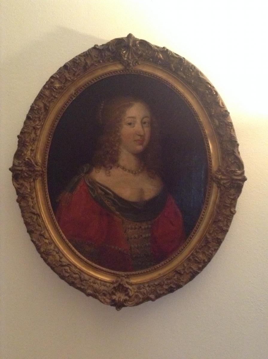 Huile Sur Toile Anna d'Autriche
