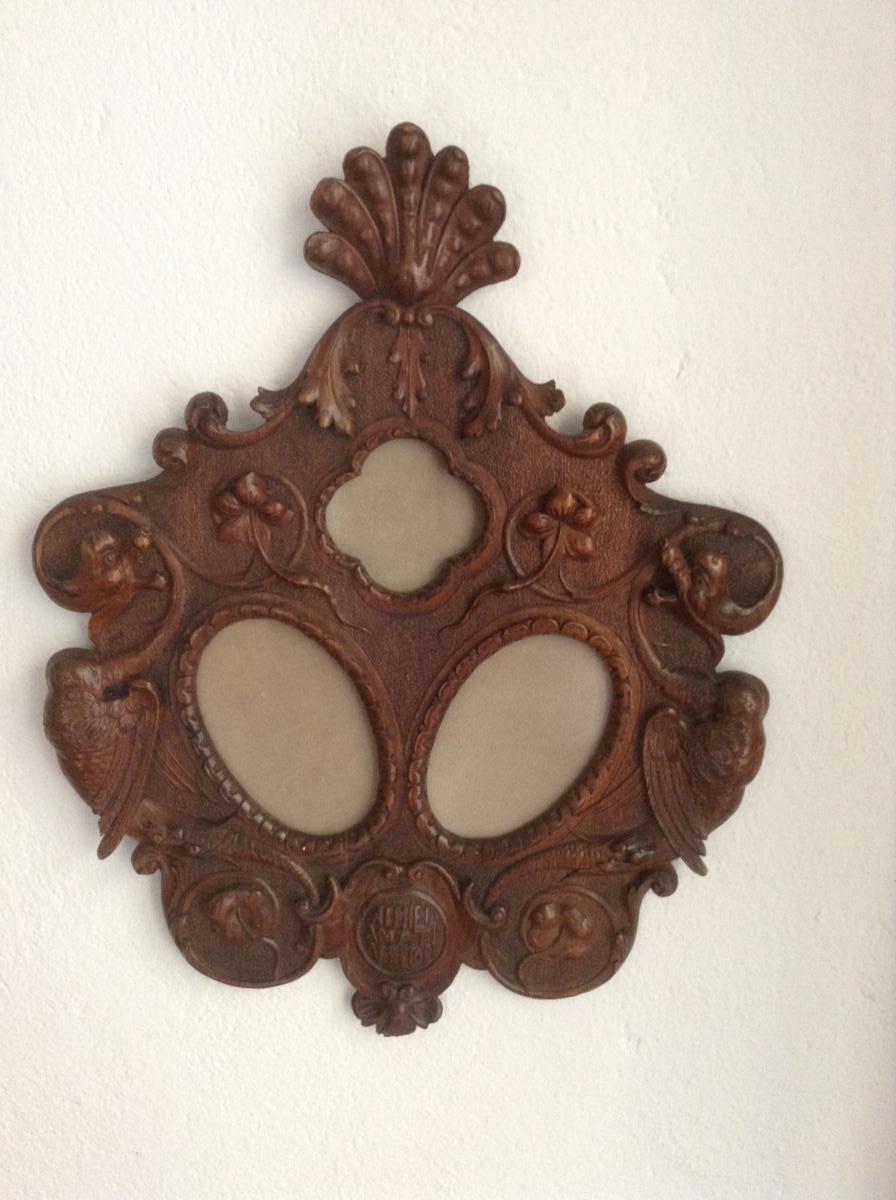 Walnut Wood Photo Frame