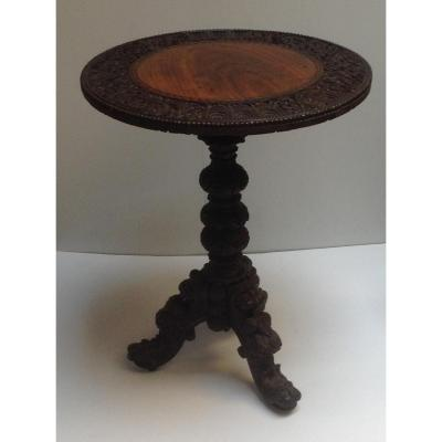 Petit Table Ronde  Sculpte Ep 800