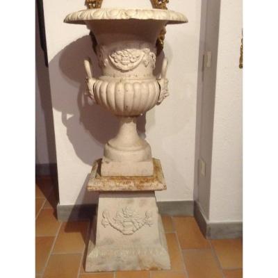 Vase En Fonte Ep XX