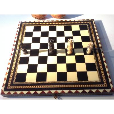 Chessboard Inlaid With Various Woods Ep XXsec