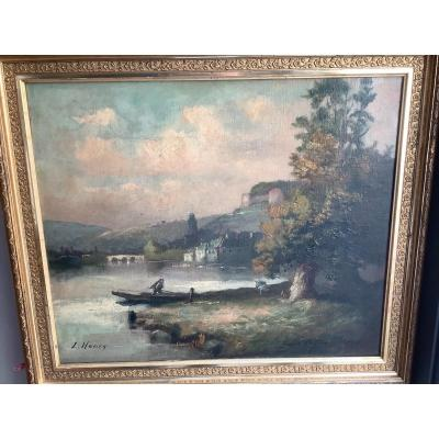 Oil Painting On Canvas With Frame Ep 1867 - 1896