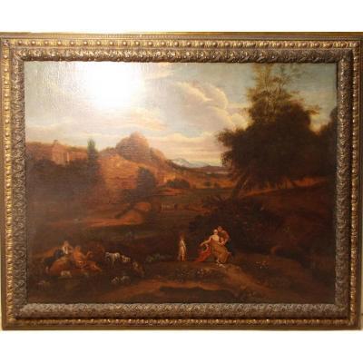 Italian School 18th Century Landscape Lazio Italy