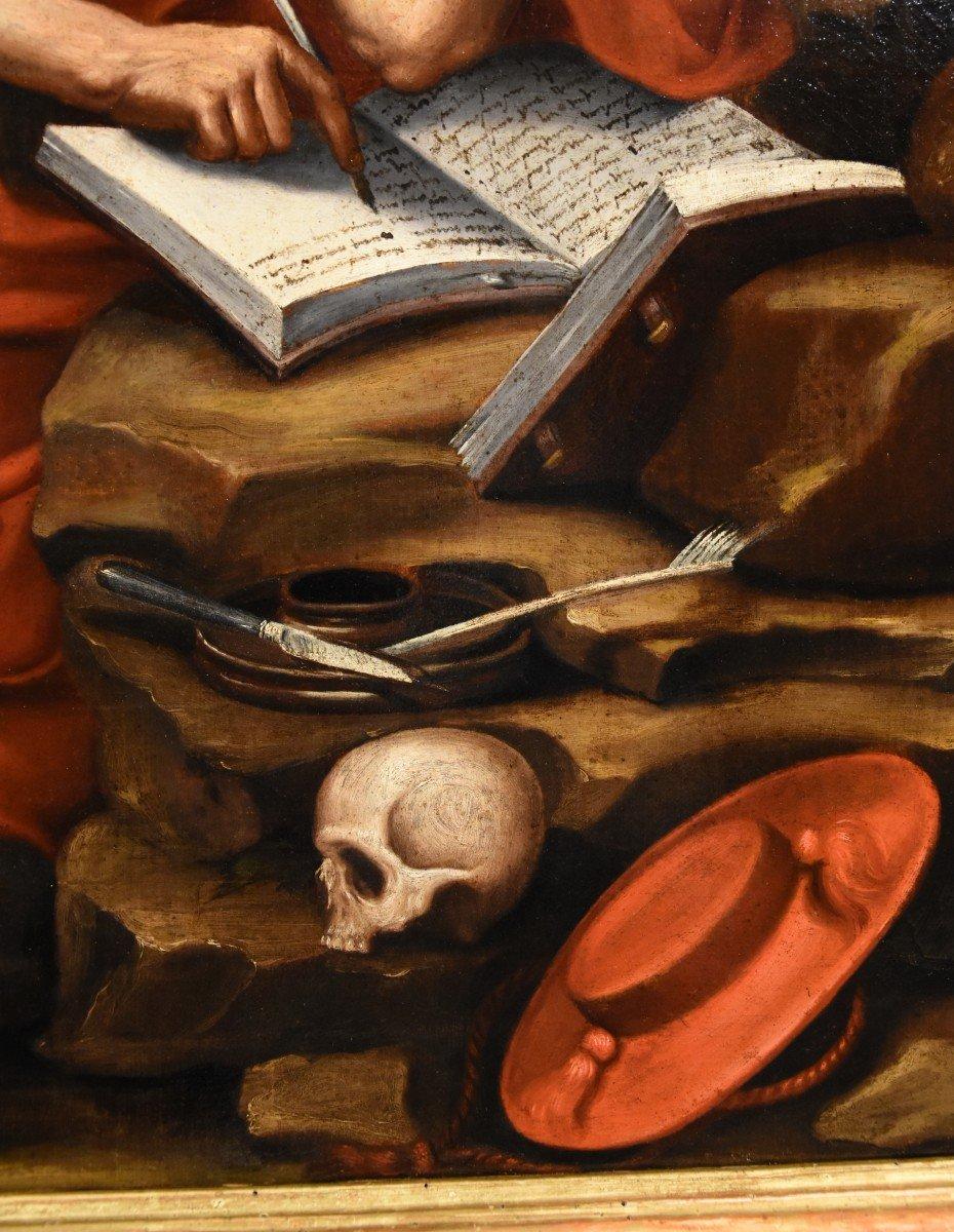 Saint Jérôme Pénitent, Atelier De Jacopo Negretti, Palma Le Jeune (Venise 1544 - 1628)-photo-2