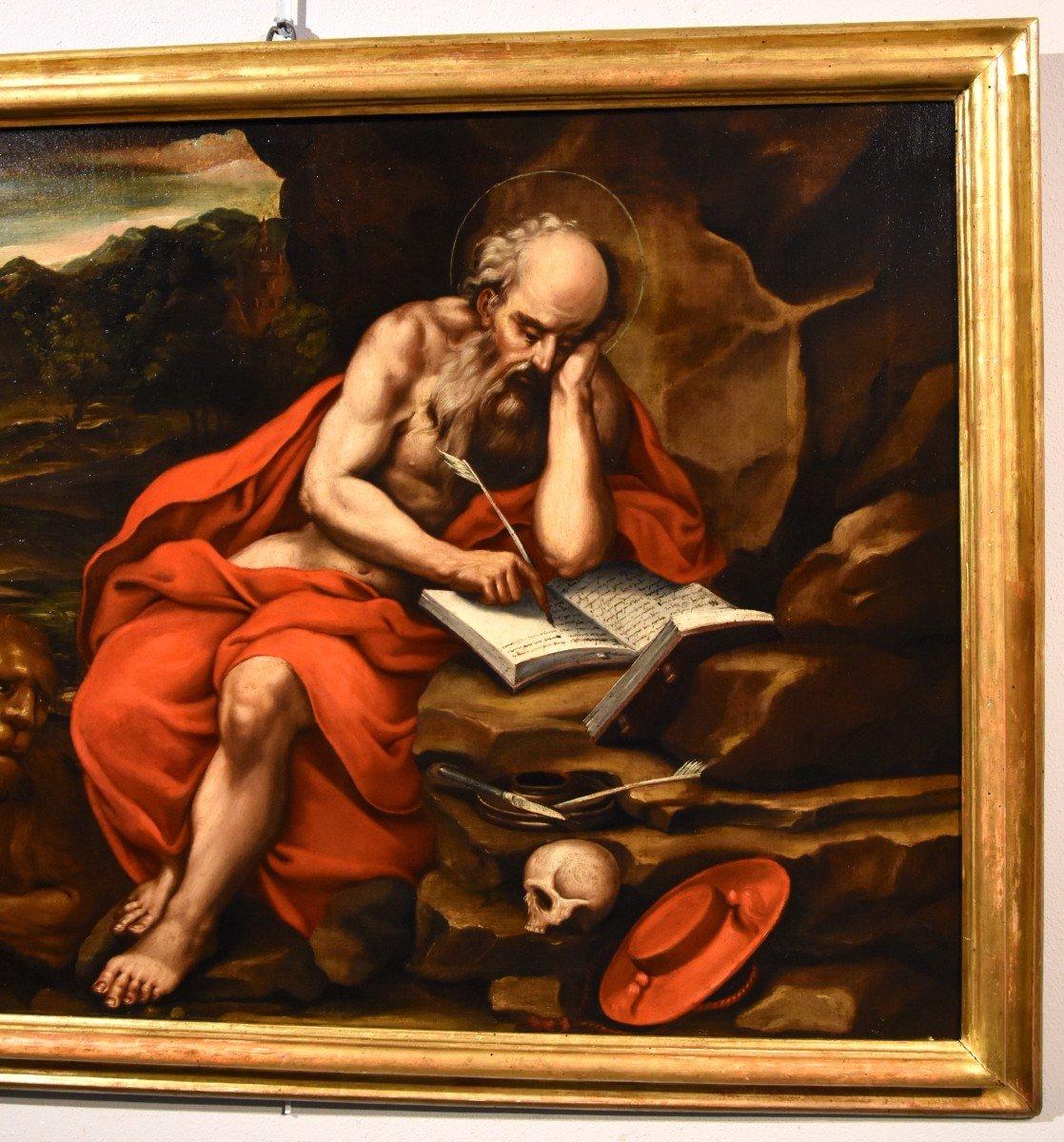 Saint Jérôme Pénitent, Atelier De Jacopo Negretti, Palma Le Jeune (Venise 1544 - 1628)-photo-6