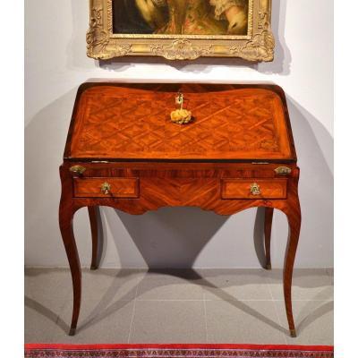 Louis XV Slope Desk, Paris Around 1750, Atelier Pierre II Migeon (paris 1696-1758)