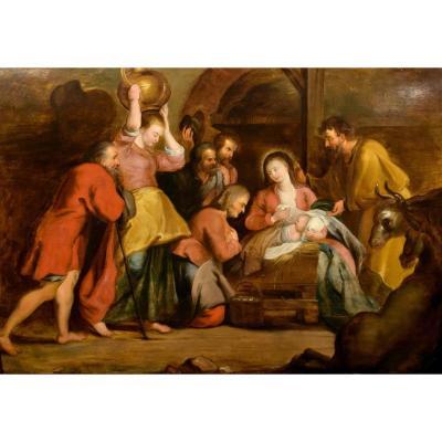Atelier De Peter Paul Rubens (1577-1640), Adoration Des Bergers