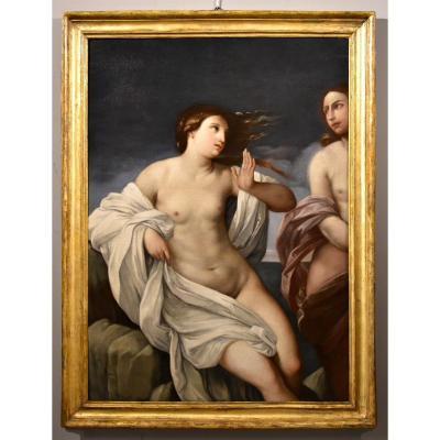 Princess Ariadne On The Island Of Naxos, Guido Reni (bologna, 1575 - 1642) Atelier De
