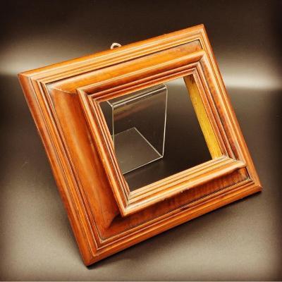 Veneered Walnut Frame - XVII Century