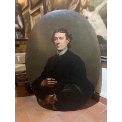 Portrait Of A Scholar. XVIII Century. Italy