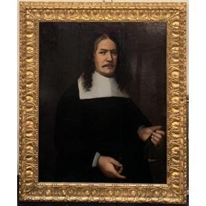 Dutch School, 1663 Portrait