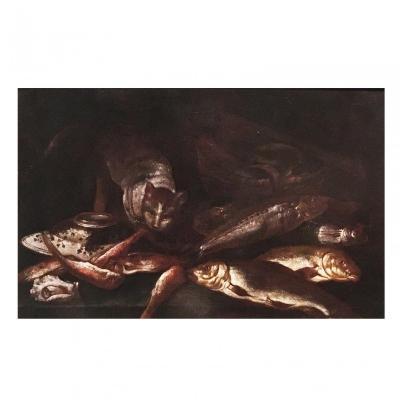 Giuseppe Recco (Naples, 1634 – Alicante, 1695), Still Life