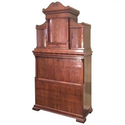 Biedermeier Secretary Of The First Half Of The XIXth Century