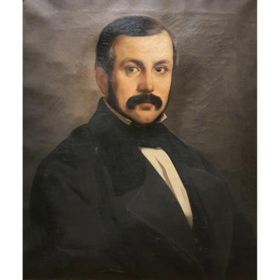 19th Century Italian Male Portrait