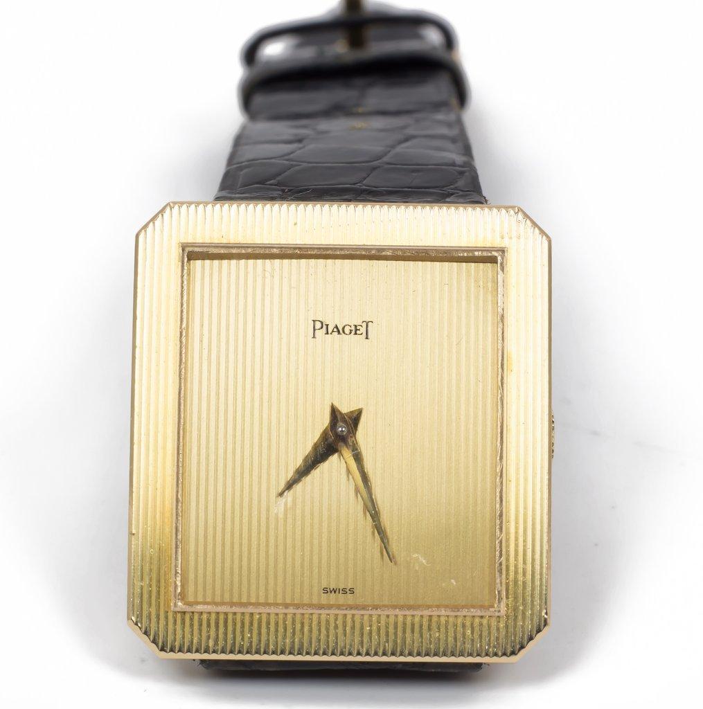 Montre  Piaget En Or 18k- 1980