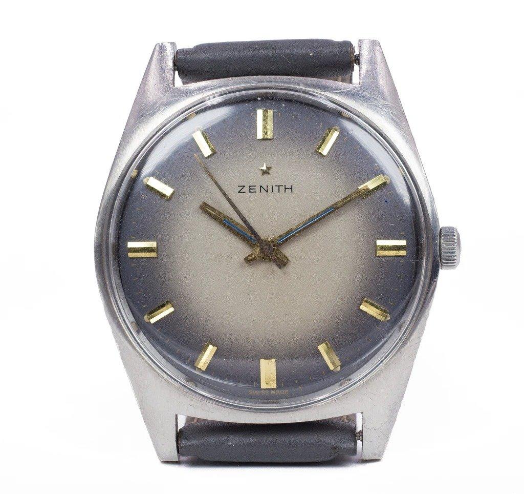Vintage Zenith Steel Watch, 1970
