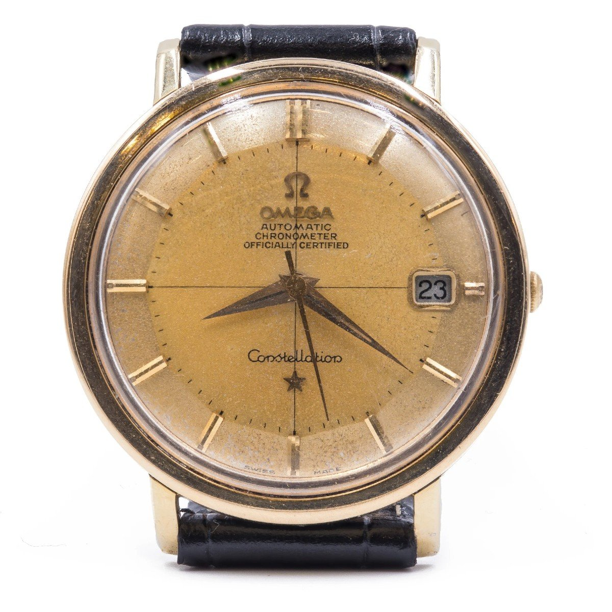 Vintage Omega Constellation Gold Plated Automatic Watch, 1963