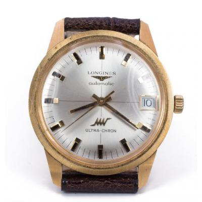 Montre Longines Ultrachron En Or 18k -automatique -1970