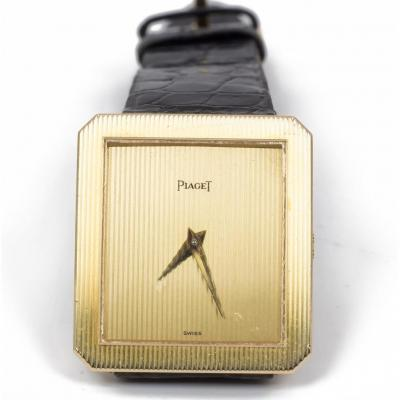Montre  Piaget En Or 18k- 1980